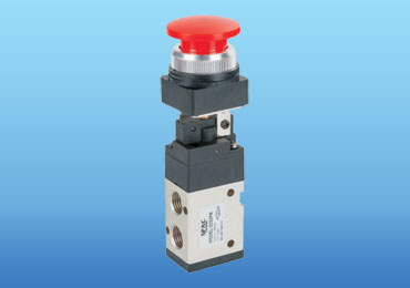 2 position / 3 ports (1/4 inch) Mechanical Valve